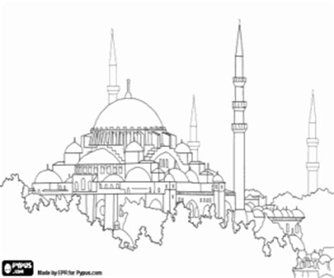 hagia sophia istanbul turkey coloring page coloring 2 monuments and other sights in europe coloring pages