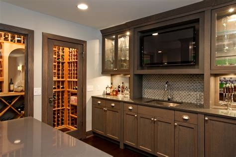 modern wet kitchen design wet bar design transitional kitchen refined llc