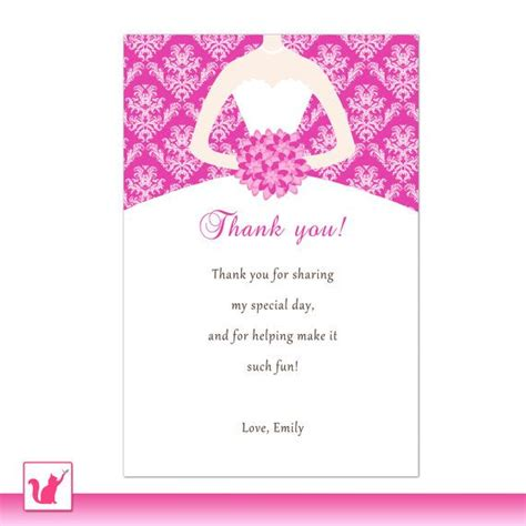 printable quinceanera card 13 best images about bridal shower thank you cards on