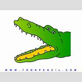 Alligator Mouth Open Drawing | 1125 x 843 gif 70kB