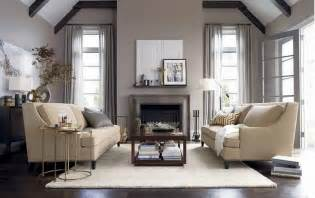 Grey Interior Design by Interior Grey Brown Paint Color For Drapery With