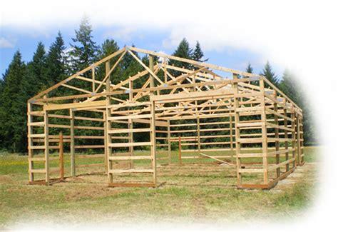 gable guide pole barn building permit