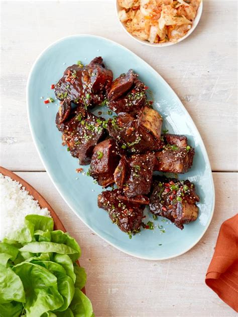 food network country style ribs korean style barbecue ribs recipe food network