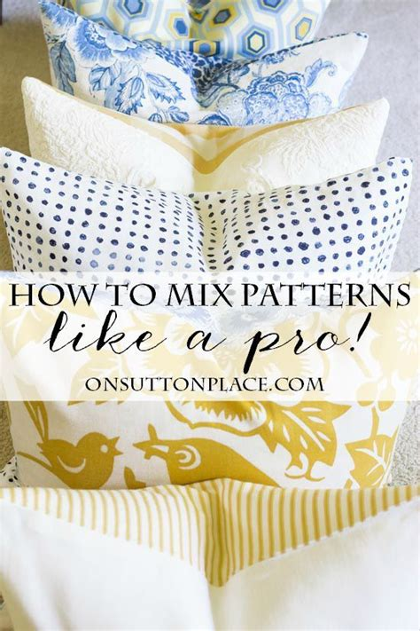 fabric pattern mixing 5 tips for mixing fabric patterns get the look pattern