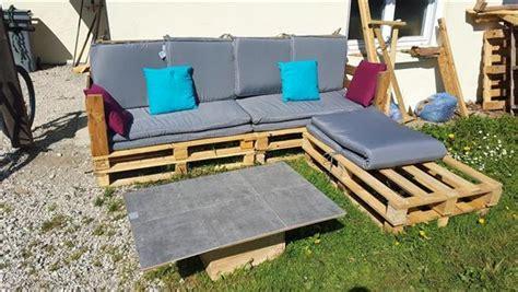 L Shaped Pallet by Some Wonderful Pallet L Shape Sofa Set Pallets Designs