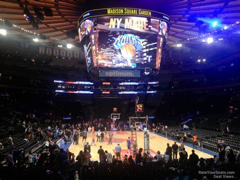 square garden section 111 new york knicks