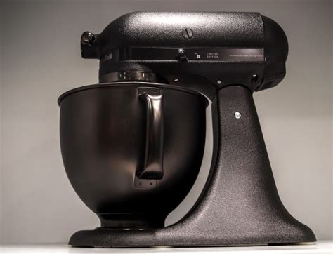 kitchenaid black tie mixer kitchenaid has a new all black stand mixer because 2017