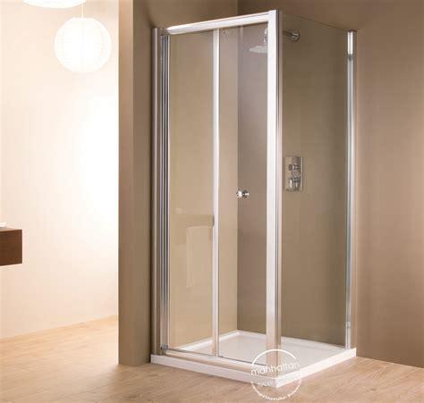 Bi Fold Shower Doors 800mm Manhattan 6 Bi Fold Shower Door 800mm