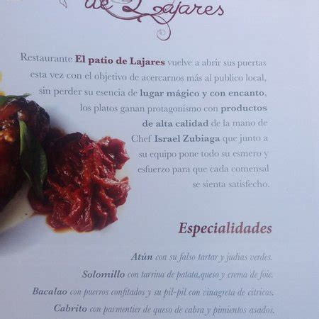 El Patio De Lajares by El Patio De Lajares Restaurant Reviews Phone Number
