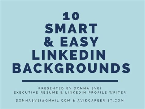 10 smart easy linkedin