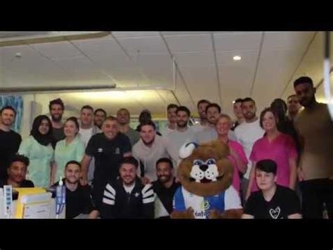 merry christmas message from blackburn rovers players
