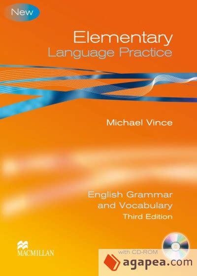 libro language practice new edition elementary language practice new edition without answer key with cd rom macmillan agapea