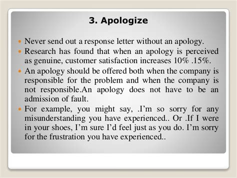 Apology Letter To Angry Friend Response To Complain Letter