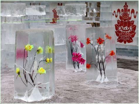 Gartendeko Winter Selbstgemacht by айс или не айс ледяные скульптуры со всего мира