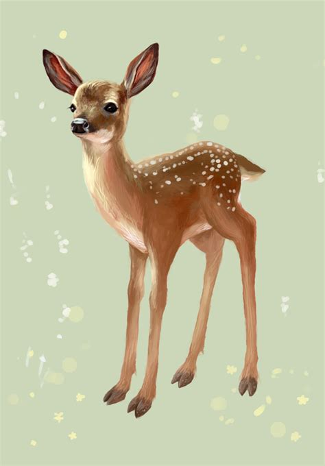 fawn postcard by furiouskitten on deviantart