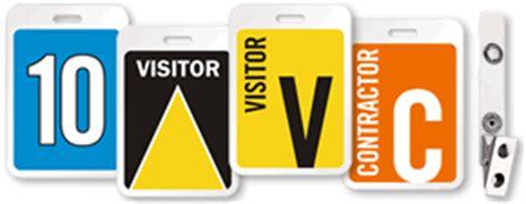 visitor pattern naming visitor badges and visitor labels