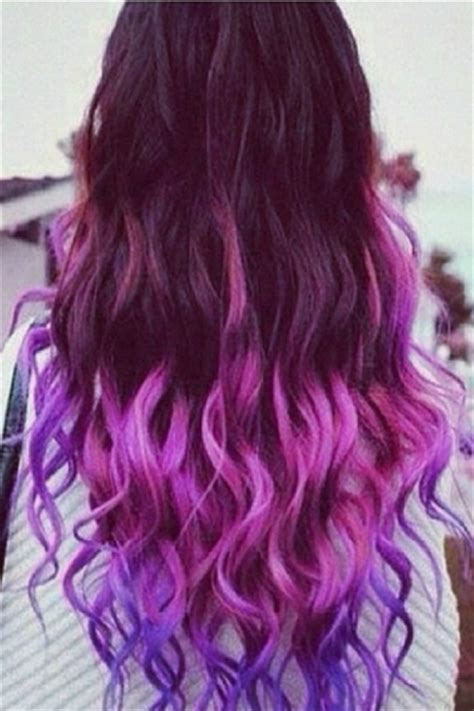 hairstyles with color extensions fashion gradual color hair extension oasap com