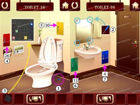100 Floors Level 56 Walkthrough Android - 100 toilets level 56 solver