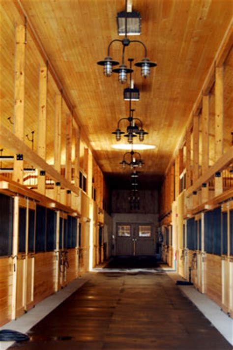rustic chandeliers add bit of elegance to ny horse barn