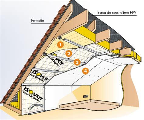 isolation de la toiture d une ossature bois mob