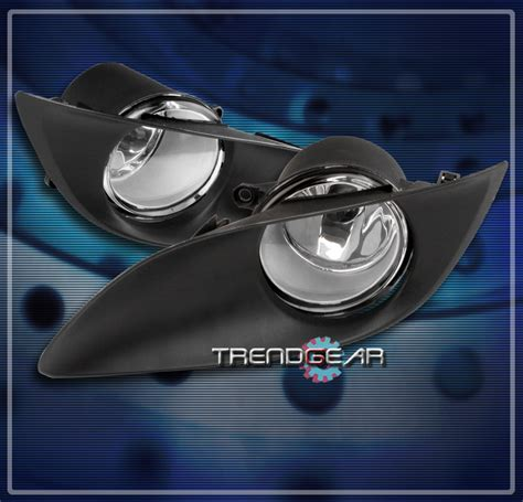 Exterior Mobil Fog L Yaris 2009 On 2009 2011 toyota yaris 2 3dr bumper driving chrome fog lights ls kit w switch ebay