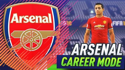 arsenal career sanchez leaves for 250 000 000 fifa 18 arsenal career