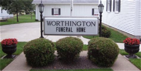 worthington funeral home