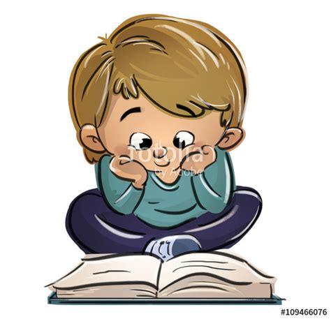 imagenes animadas leyendo un libro quot ni 241 o sentado leyendo un libro quot stock photo and royalty