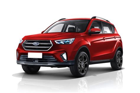 ford kuga new 2020 2020 ford ecosport apes the ford kuga in a new rendering