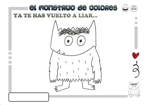 libro the colour monster 17 best images about el monstruo de los colores on kids education patrones and nu