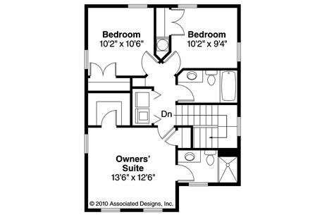 Cabin Floor Plan With Loft by Cottage House Plans Emerson 30 108 Associated Designs