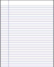 note paper template 7 best images of printable note paper with lines