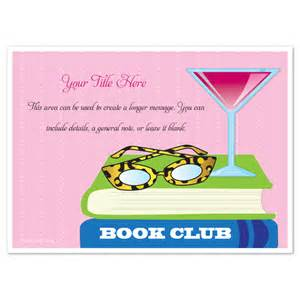 book club leo print glasses invitations amp cards on pingg com