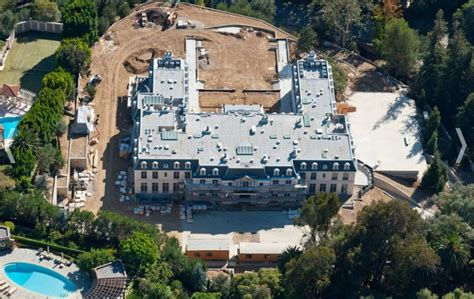 biggest houses los angeles s biggest house is under construction in bel air curbed la