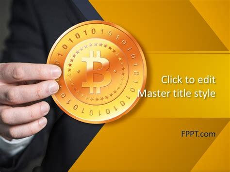 Cryptocurrency Bitcoin Powerpoint Template Free Powerpoint Templates Bitcoin Powerpoint Template