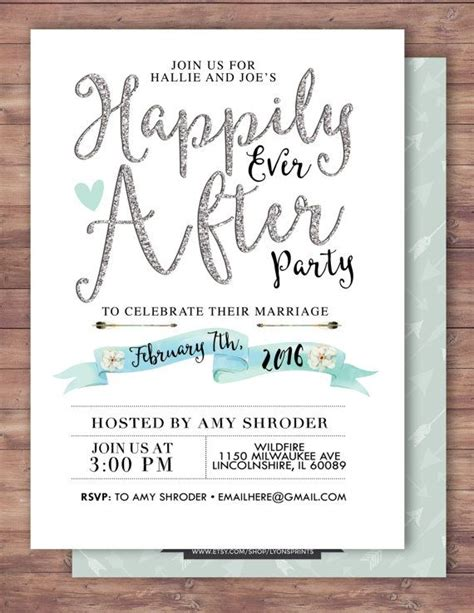 invitation wording for after destination wedding best 20 wedding after ideas on wedding