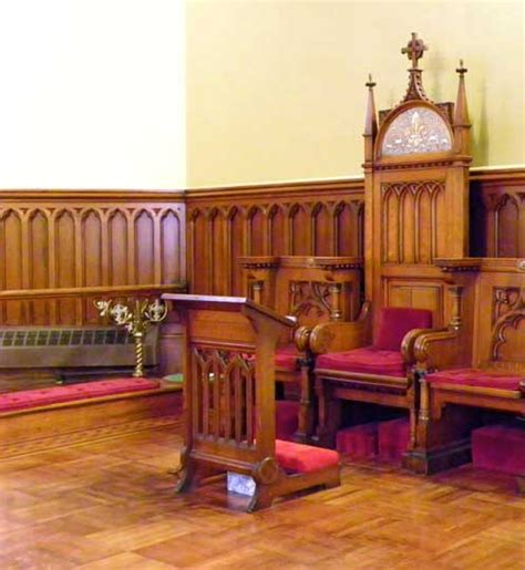 Pronunciation Of Wainscoting by Episcopal Church Of The Ascension