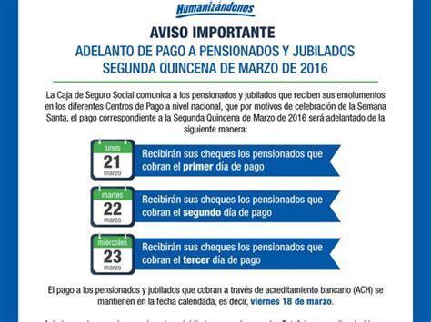 fecha de pago a jubilados y pensionados septiembre 2016 fecha de pago a jubilados y pensionados septiembre 2016