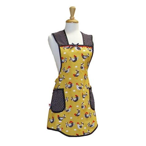 apron pattern ideas chicken apron sewing apron patterns ideas pinterest