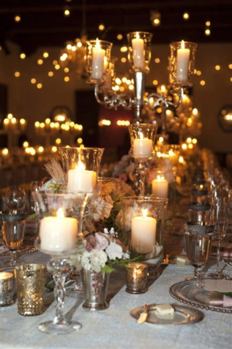 wedding ideas with candles picture of 2013 trend alert 35 gorgeous wedding decor