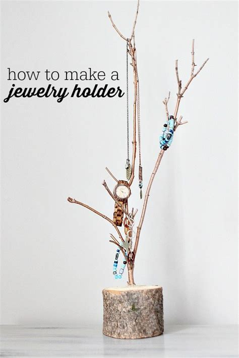 how to make a jewelry stand how to make a jewelry holder refresh restyle