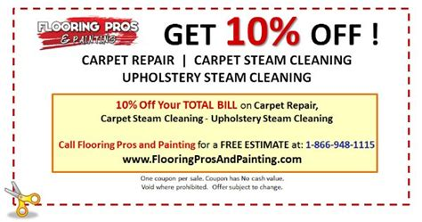 Upholstery Cleaning Coupons by Coupons Flooring Painting Carpet Cleaning Coupons