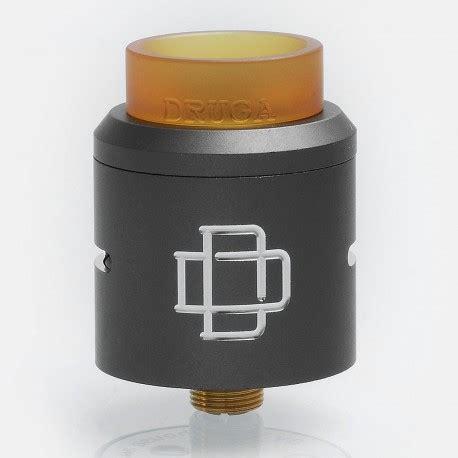 Druga 24 Rda Atomizer Black Authentic Termurah 24 99 authentic augvape druga rda grey 24mm rebuildable atomizer