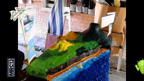 como hacer maquetas de paisajes maquetas volc 225 n krakatoa paso a paso youtube