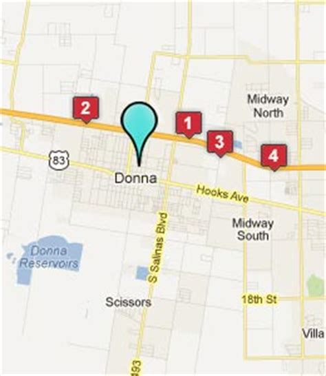 map of donna texas donna texas hotels motels see all discounts