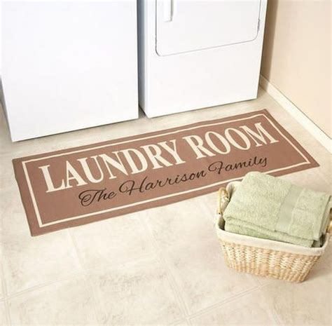 Laundry Room Mats by Personalized Laundry Room Rugs Ideas With Family Name