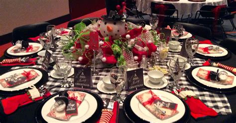 christmas luncheon decorating ideas tablescapes