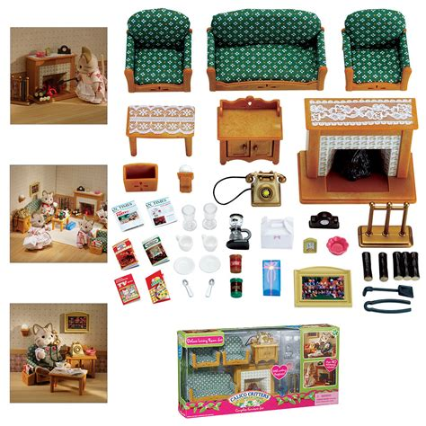 calico critters deluxe living room set calico critters deluxe living room set shopswell