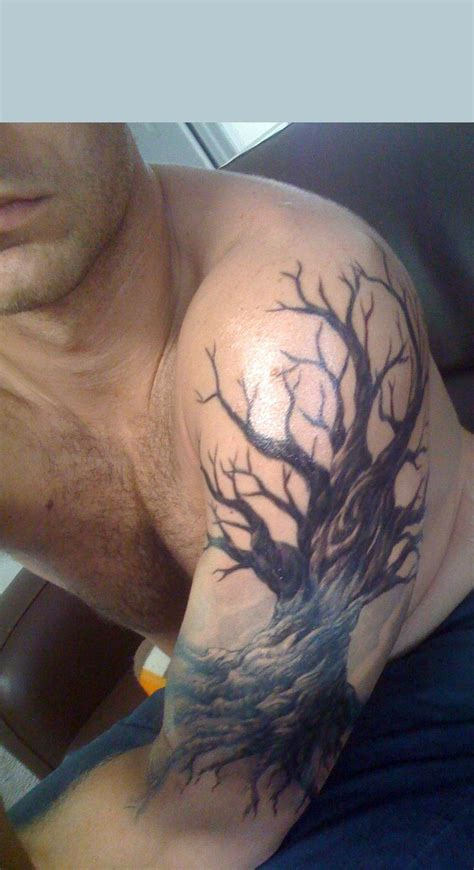 oak tattoo best 25 tree arm ideas on tree tattoos