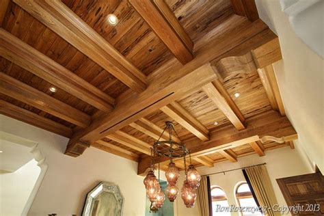 cypress box beam ceiling ceilings pinterest